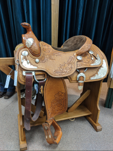 Don Loewen Custom Show Saddle